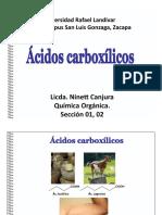 Clase sabado 18, Tema Acidos  Carboxilicos