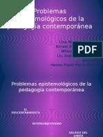 Problemas epistemológicos de la pedagogía contemporánea (1)