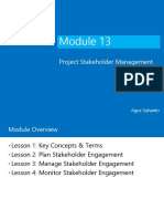 13. Project Stakeholder Management - PMBOK6