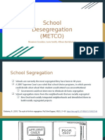 school desegregation  metco