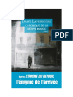 Dany Laferriere - Chronique de la derive douce - 1994.pdf