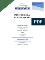IMPACTO DE LA REMUNERACION