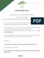 CORRIGE 1brevet-svt-pondichery-2018