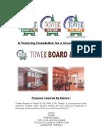 Tower Range Catalogue