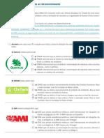 FICHA 20 - CORREÇÃO - AS ONG E A AJUDA AO DESENVOLVIMENTO