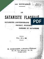 Le sataniste flagellé - R. Schwaeblé