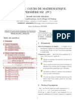 Etude Et Représentation Graphique Des Fonctions
