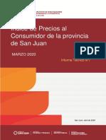 Informe sobre inflación de marzo en San Juan