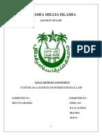 Legal Methods assignment
