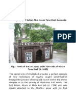 BIOGRAPHY OF SULTAN ABU AL-HASAN TANA SHAH OF  GOLCONDA KINGDOM, HYDERABAD