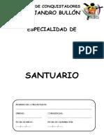 ESPECIALIDAD DE SANTUARIO