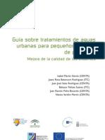 Guía para el tratamiento de aguas residuales en pequeñas poblaciones (texto principal)