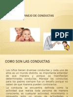 TALLER DE MANEJO DE CONDUCTAS (1)