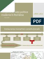 Începuturile vieţii politice moderne în România.pptx
