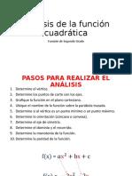 Análisis de la función cuadrática 2