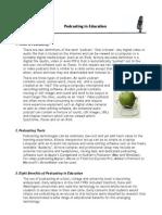 Podcasting Info Sheet