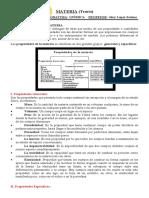 PROP. DE LA MAT QUÍMICA - 3° AÑO (T)