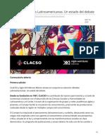 clacso.org-Colección Miradas Latinoamericanas Un estado del debate