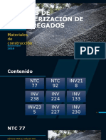 ENSAYOS DE CARACTERIZACIÓN DE LOS AGREGADOS