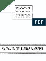 Isabel Lleras de Ospina