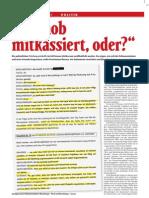Falter - Grasser Meischberger Telefonprotokolle