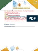 Fase 3 Formato para análisis de problemática