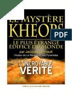 Jacques Grimault - Le mystère Kheops - Gizeh 2005 Patrice Pooyard LRDP La révélation des pyramides La Nouvelle Atlantide.pdf