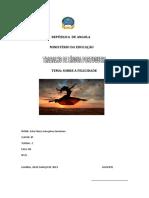 REPÚBLICA  DE ANGOLA ester - Cópia