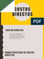 COSTOS DIRECTOS GRUPO 5.pptx