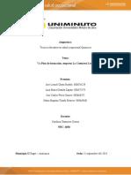 actividad  2 Estudio de caso Plan de formación, empresa La Costurera