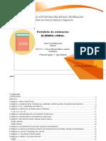 PORTAFOLIO DE EVIDENACIAS ALGEBRA