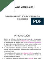 UNI6_ENDURECIMIENTO POR DEFORMACIÓN Y RECOCIDO