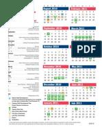 Calendar 2010-2011 Color