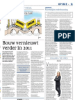 Artikel_cobouw_De Bouw Vernieuwt Verder in 2011_14122011