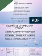 REGIMEN DE CONTABILIDAD PÚBLICA