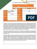Syllabus Gerencia y Gestión de proyecto - Ing Sistemas (Virtual)