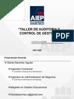 Clase 1 Taller de Auditoria y Control de Gestion