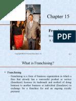 Barringer-Chapter151- Franchising