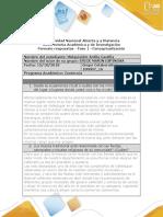 Formato respuestas - Fase 1