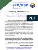 Queixa contra Direcção Nacional da PSP - ASPP/PSP