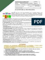 CLASES DE TECNOLOGIA . GRADO OCTAVO . (1)
