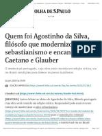 Quem foi Agostinho da Silva, [UTF-8_]filo