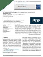 Un estudio de caso experimental del control robusto en cascada de dos elementos del nivel del tambor de la caldera