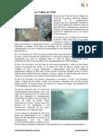 Lectura 01 - La niebla de Meuse Valley de 1930