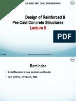 Module 3 Reinforced Concrete Beams - Lecture 8