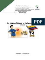 Informe - Informatica y Software Libree