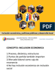 Políticas públicas para la inclusión en Ecuador - JSánchez