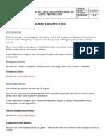 MATERIAL DE CAPACITACION_ Tipos de productos de aseo y desinfeccion