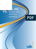 AdEx 2009 - European online advertising expenditure