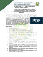 Contrato de consultoría Instrumentos de Gestion Ambiental
